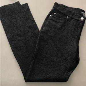 Eileen Fisher Stretch Brocade Skinny Pants  6P